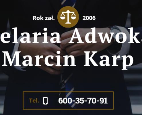 Kancelaria Adwokacka Marcin Karp